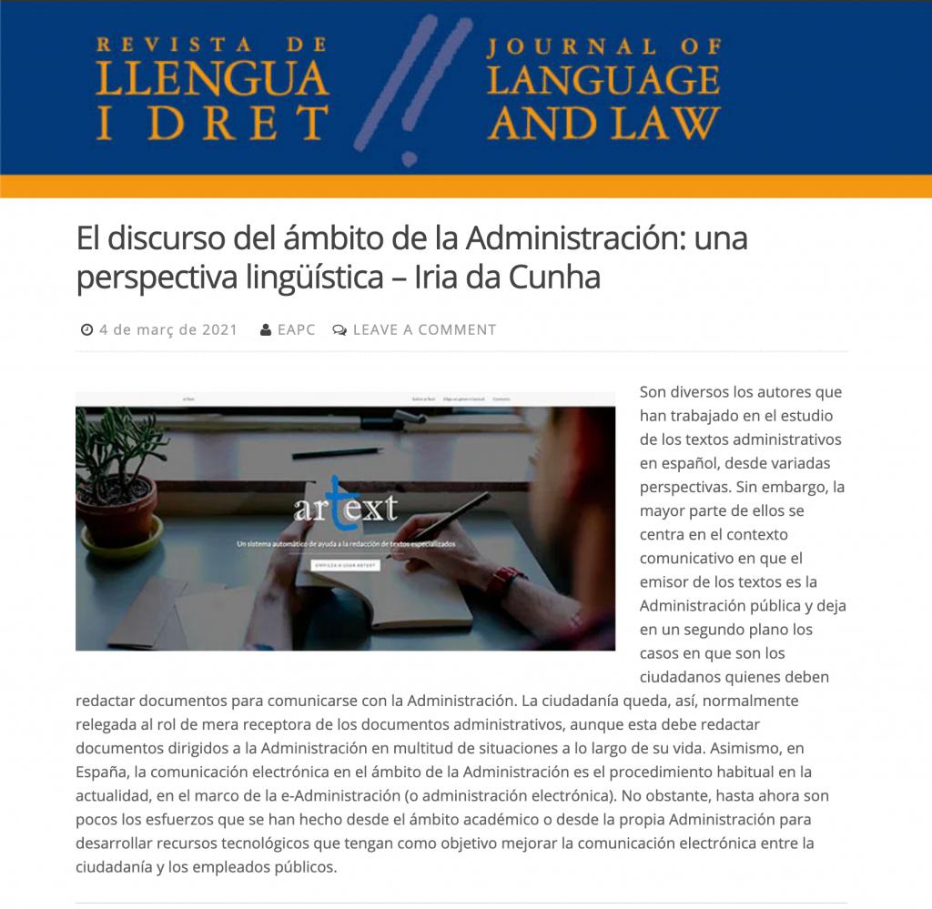 post-blog-llengua-i-dret-libro-iria-web-artext